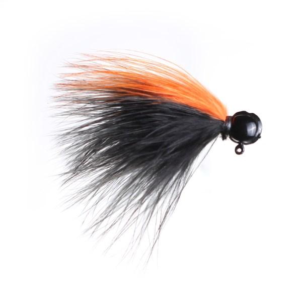 marabou jig 1-8 Black-Red