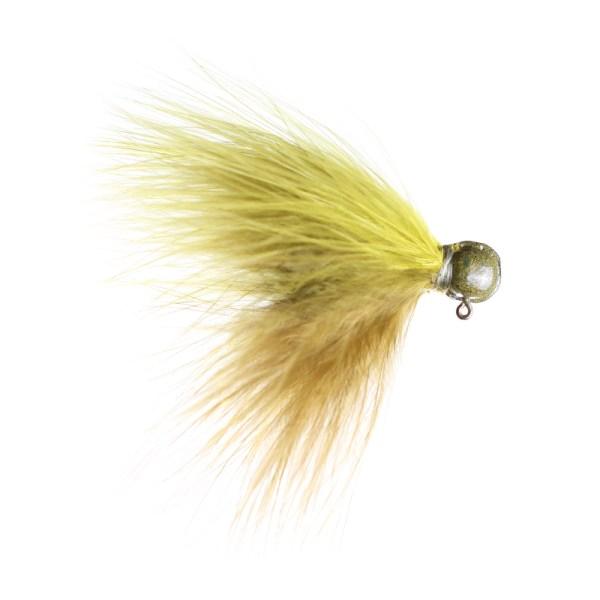 marabou jig 1-8 Sculpin-Olive ScH