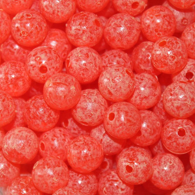 Mottled Beads - Tangerine