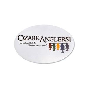 Ozark Anglers Logo Sticker