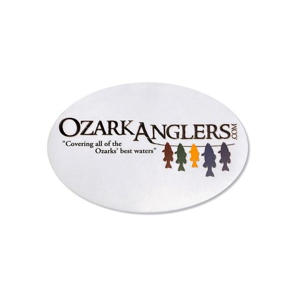 Ozark Anglers Logo Oval