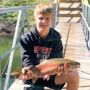 Dane Parlin rainbow trout