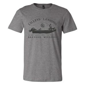 Fly Fishing Boat Shirt – Deep Heather