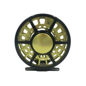 Rudder Fly Reel – Black & Green