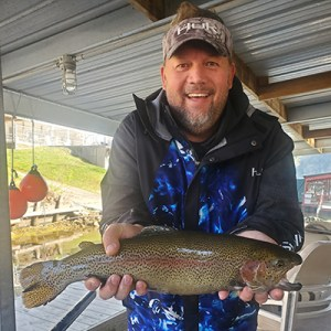 Brad Reed rainbow trout