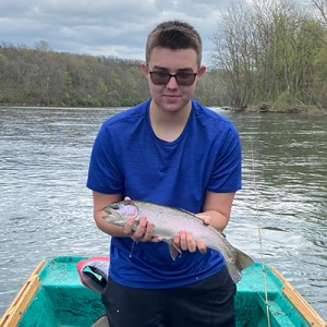 Jackson Belcher rainbow trout