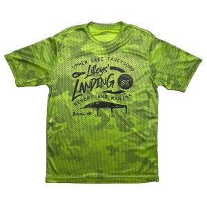 Camo Hex Jerkbait Shirt – Lime Shock