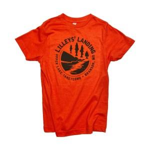 Stream Circle – Vintage Orange (Youth)