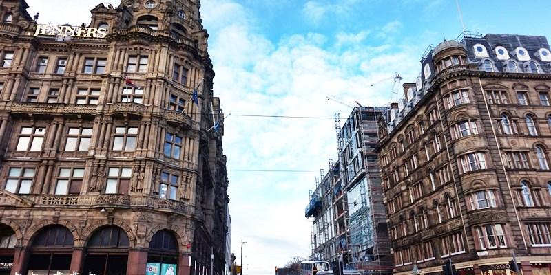 愛丁堡懶惰鬼自由行 隨意走在新舊城古老街頭(含觀光地圖)