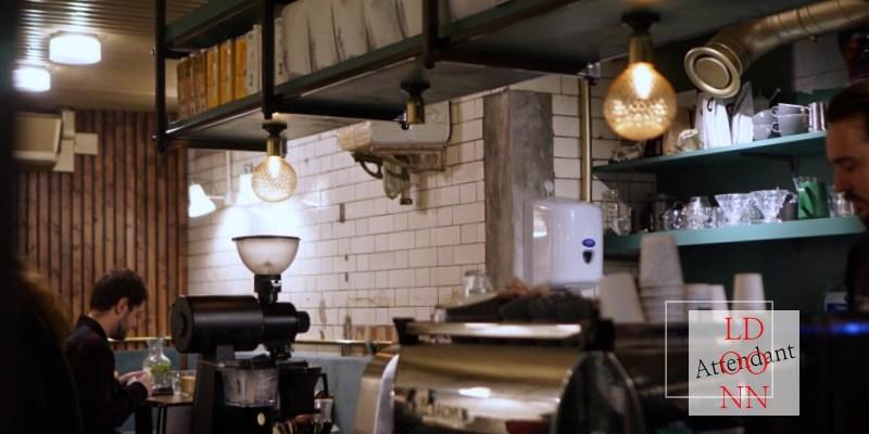 【倫敦咖啡廳】attendant cafe復古公廁咖啡店,吃早餐喝好咖啡