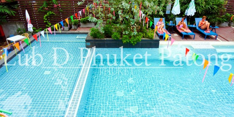 普吉島住宿推薦 巴東海灘Lub D台幣1千住超猛泳池飯店 也有青旅房喔!