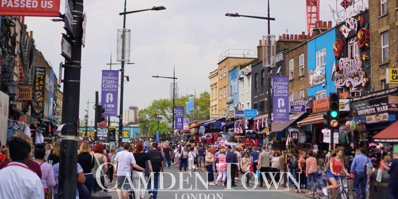 【倫敦市集】Camden Market肯頓市集交通,來三次還是沒吃到美食沒撿到寶!?