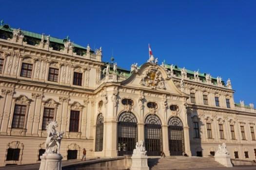 【維也納景點】美景宮Schloss Belvedere門票、交通、免費花園,克林姆原來在這。