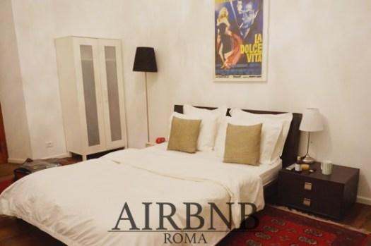 【羅馬Airbnb推薦】Termini火車站旁超大民宿、安全有電梯、雙人住宿