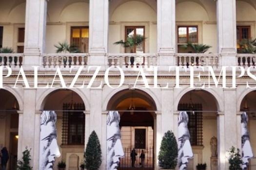 【羅馬景點】阿爾騰普斯宮Palazzo Altemps門票、交通、營業時間,小巧的美麗宮殿