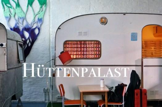 【柏林特色飯店推薦】Hüttenpalast露營車旅店,睡在露營車小木屋裡!