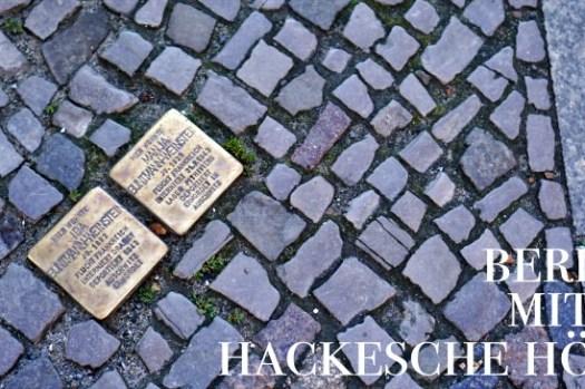 【柏林免費景點】Hackesche Höfe哈客雪庭院,充滿文創小店的歷史悲劇