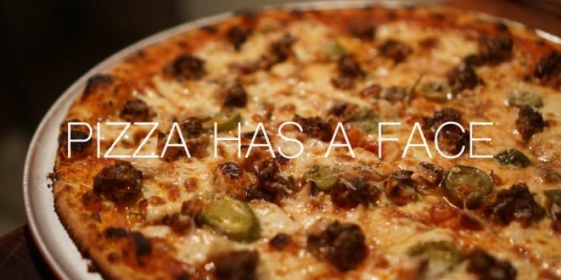 北門迪化街美食|披薩有張臉Pizza Has a Face,大稻埕很酷的一間店