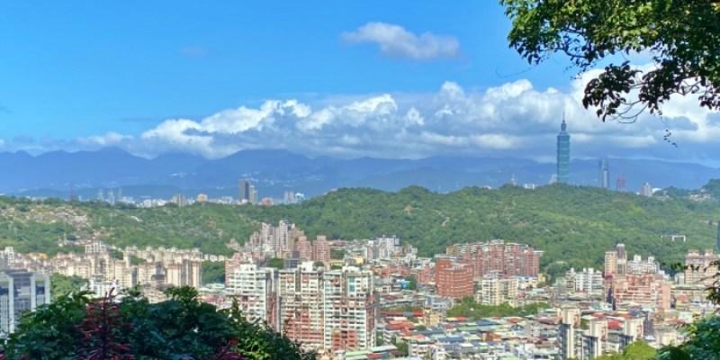 台北健行步道|景美仙跡岩步道廁所、走多久,看台北101不用去象山
