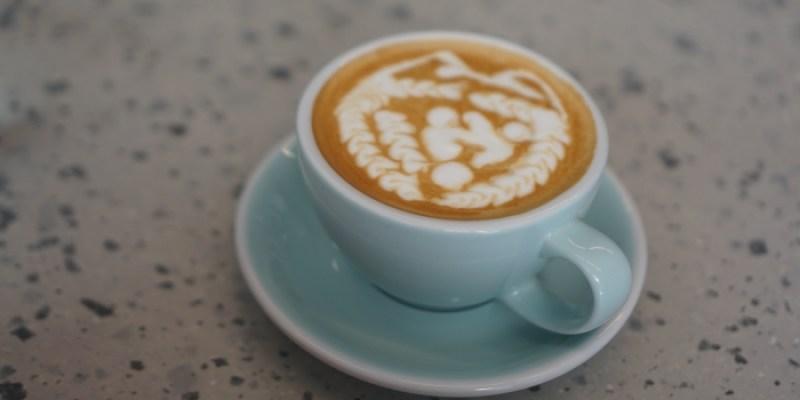 松江南京咖啡廳 PARC泊咖啡,拉花好美的自家烘焙平價咖啡店