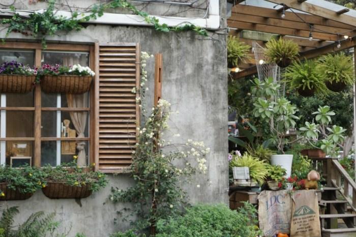 新竹竹北早午餐 紅瓦紫藤咖啡廳,新瓦屋裡遇見法式鄉村味
