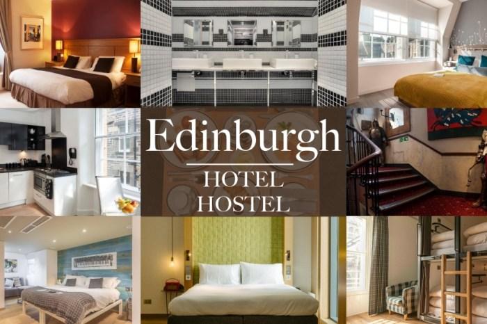 2021蘇格蘭愛丁堡住宿推薦|9間離火車站近平價飯店青旅清單!自助必看