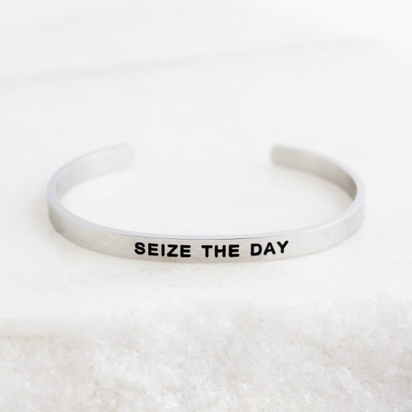 Seize the Day Inspirational Jewelry
