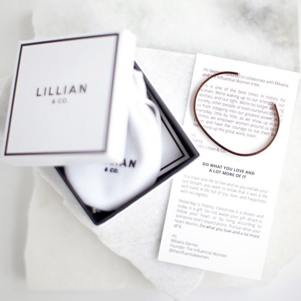 The Influential Women Collaboration Lillian & Co.