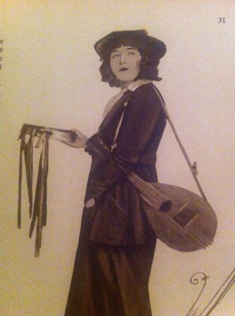 Dorothy Gish as The Little Disturber in The Hearts of The World