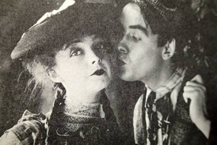 The Movies Mr. Griffith and Me (03 1969) - With Robert (Bobby) Harron in True Heart Susie 1919 — with Lillian Gish and Bobbie Harron.