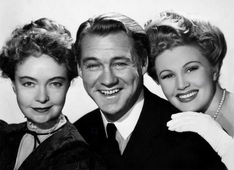 Lillian Gish, Sonny Tufts and Joan Caulfield - Miss Susie Slagles 1946