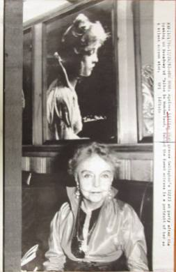 ap wire press photo actress lillian gish 1986