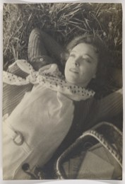 Nell Dorr (1893-1988); [Portrait of Lillian Gish lying on grass]; ca. 1930; Platinum print; Amon Carter Museum of American Art; Fort Worth, Texas; Bequest of Nell Dorr; P1990.45.462