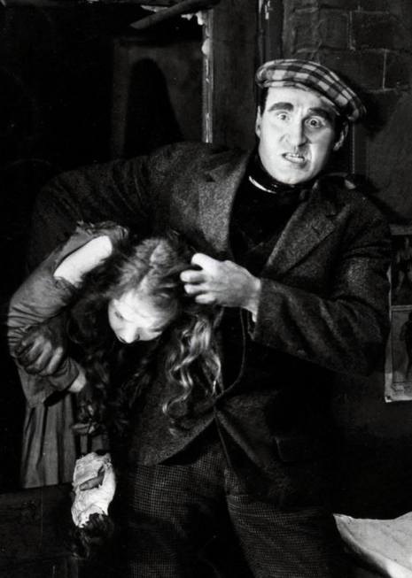 Lillian Gish and Donald Crisp in Broken Blossoms