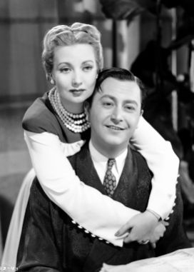 Ann Sothern and Robert Young in LADY BE GOOD