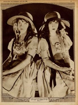 gish-sisters-in-orphans-of-the-storm Picture Show may-1922-part-3