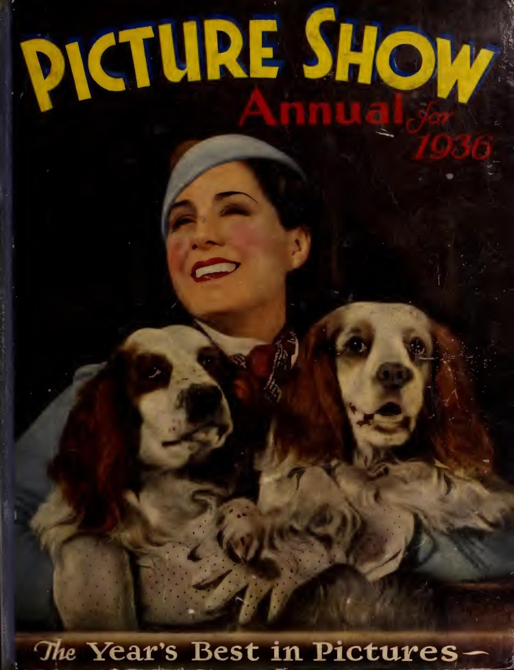 Picture Show Annual 1936 cover