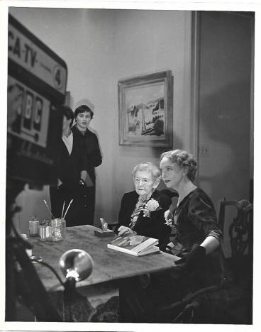 Grandma Moses and Lillian Gish