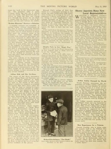 Moving Picture World (May 1919) Broken Blossoms 2
