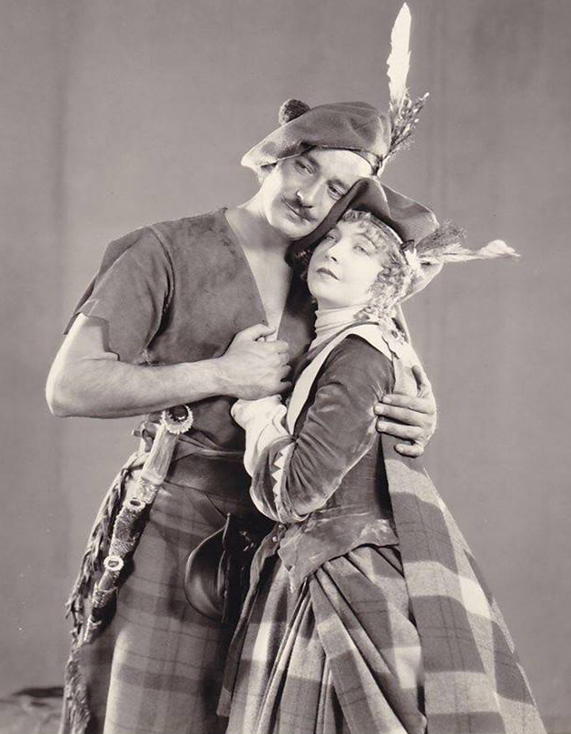 Lillian Gish and Norman Kerry - promo - Annie Laurie