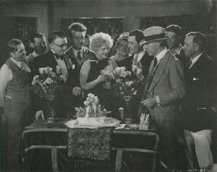 D.W. Griffith, G.W. Bitzer, Don Alvarado, Phyllis Haver, Jean Hersholt, and Karl Struss in The Battle of the Sexes (1928)