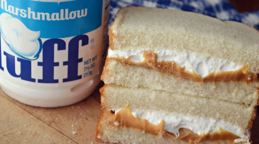 If you like Fluff, Fluff, Fluff – This New England Classic Fluffernutter Sandwich is a Winner!