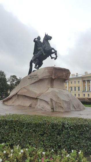 彼得大帝青銅騎士像(十二黨人廣場)