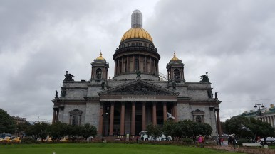 St. Isaac Cathedral in SPB