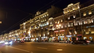 Nightlife at Nevsky Prospect