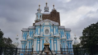 Smolny Cathedral in SPB