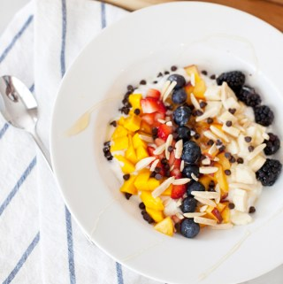 Cottage Cheese Yogurt Rainbow Power Bowl