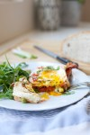 Sriracha and Roasted Red Pepper Sourdough Egg Toast