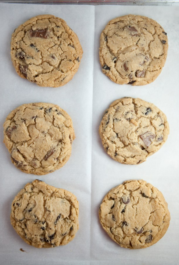 My Favorite Non-Macro Friendly Legit Buttery Chocolate Chip Cookies