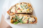 Egg White Wrap with feta and sundried tomato www.lillieeatsandtells.com